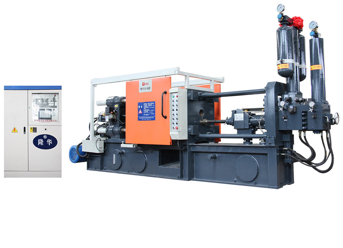 Quick injection system and pressurization system die casting machine